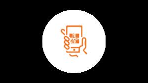 QR code menu icon